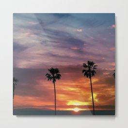 Southern California Sunset Metal Print
