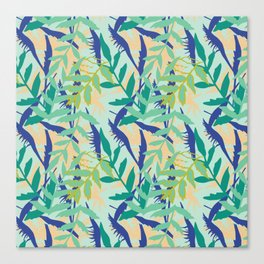 Rotorua Foliage Canvas Print