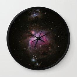 Cosmic Galaxy Wall Clock