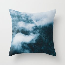 Embracing serenity - Landscape Photography Throw Pillow