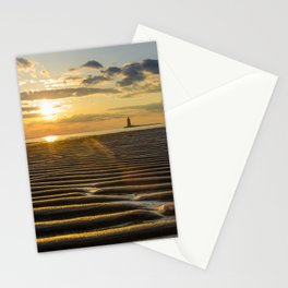 Sandbars and Sunset Coastal Nature / Landscape Photograph Stationery Cards