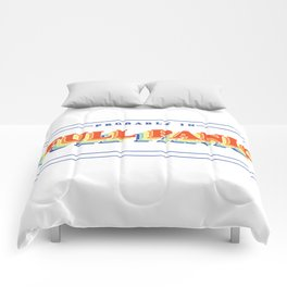 Full Panic - In Rainbow Comforters