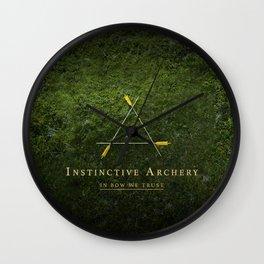 Instinctive Archery Wall Clock