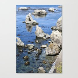 You and Me and the Ocean Canvas Print