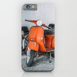 Let's go see the world on our Scooter iPhone Case