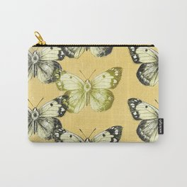 Butterfly - Yellow Carry-All Pouch