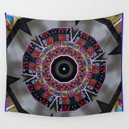 Kaleidoscope Decor 5 Wall Tapestry