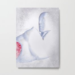 Almost Human Metal Print