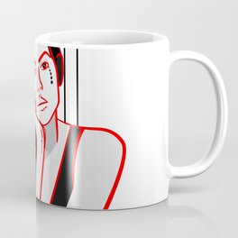 Minimal Girl Coffee Mug