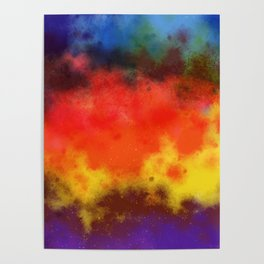 Sweet Galaxy of Color Poster