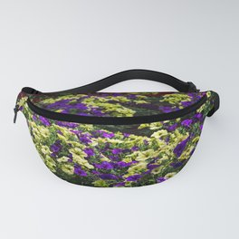 Waves of Petunias Fanny Pack