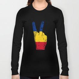 Cool Romania Victory Gift Idea Long Sleeve T-shirt