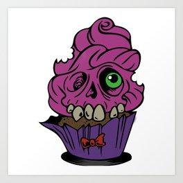 Deathday Cake Art Print