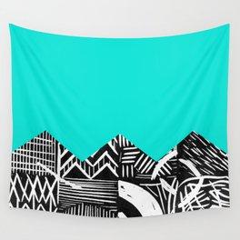 Sky lino bright Wall Tapestry