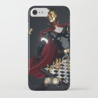 chess iPhone & iPod Cases featuring Chess by Guilherme Marconi