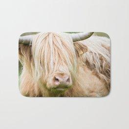 Scruffy Cow Bath Mat