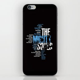 The Mighty Souls: Jazz Legends iPhone Skin