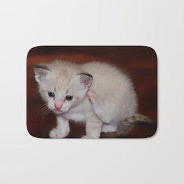 Smitten with a Kitten Bath Mat