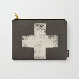 Ski Patrol Sign Cross X Vintage Carry-All Pouch
