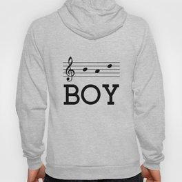 Bad boy (treble clef) Hoody