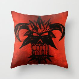 Dethskull Throw Pillow