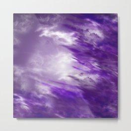 Violet sky Metal Print