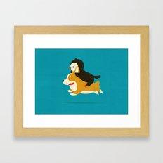 Like the Wind Framed Art Print