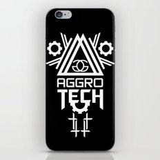 AGGROTECH BLACK iPhone & iPod Skin