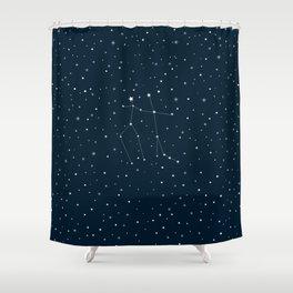 Written in the Stars Shower Curtain
