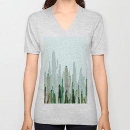 horizont cactus Unisex V-Neck