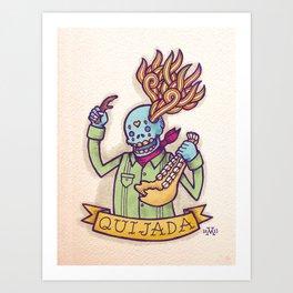 Quijada Art Print