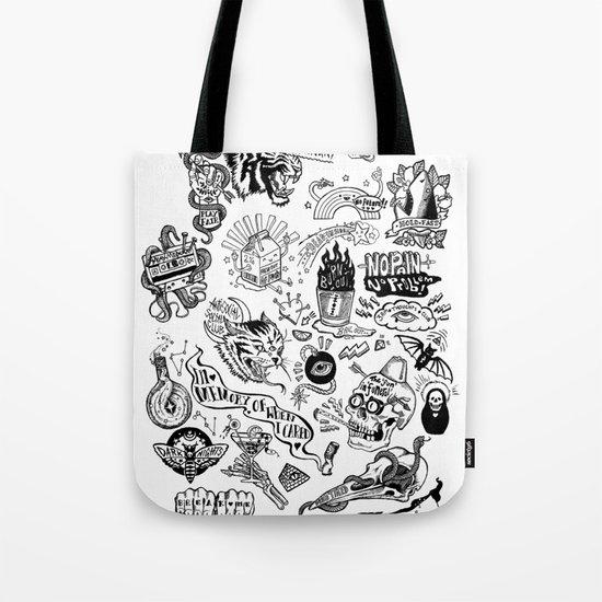 3am Thoughts Club Tote Bag