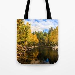 Autumn, Hidden Lake Tote Bag