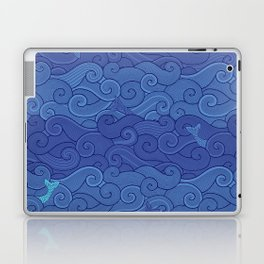 Surf Side - NAVY Laptop & iPad Skin