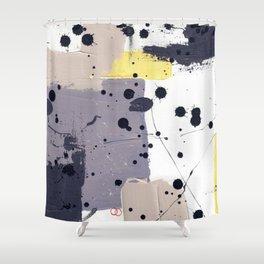 Purple Mattress Shower Curtain