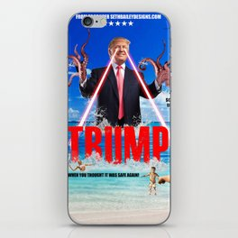 Trumptapuss iPhone Skin