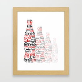 The Coke Project Framed Art Print