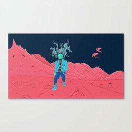 SpaceZomb Canvas Print