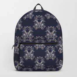 Baroque style floral retro pattern Backpack