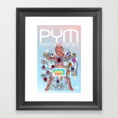 PYM PARTICULATES Framed Art Print