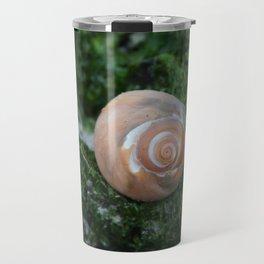 Shell on Moss Travel Mug