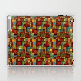 Stained Glass Geometric Pattern Laptop & iPad Skin