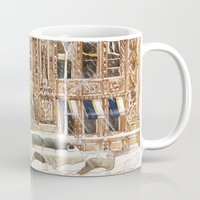 takmaj Mugs featuring Winter in NYC by takmaj