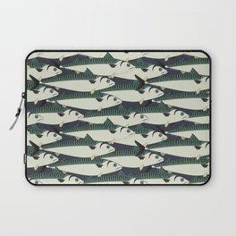 Mackerel fish close up Laptop Sleeve