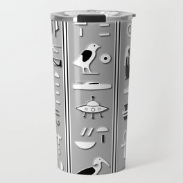 Glyphs Travel Mug