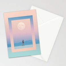 Moon Walker Stationery Cards