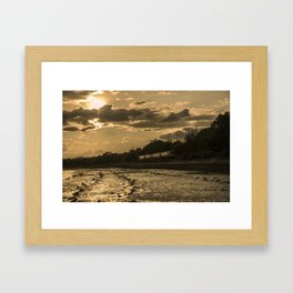 Sunset Pacer  Framed Art Print