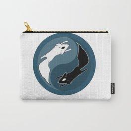 Yin Yang Fox Carry-All Pouch