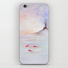 Red fish iPhone & iPod Skin