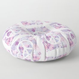 Peace and love Floor Pillow